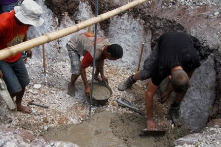 Pembuatan Biogas Rumah